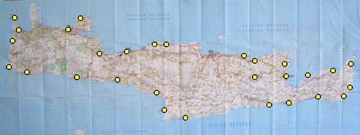 Meine Kreta-Rundreise 2012