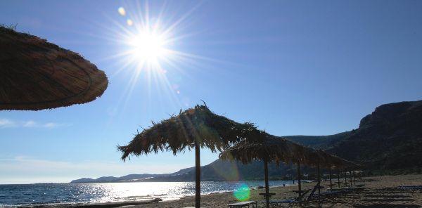 Außergewöhnliche Hitzewelle auf Kreta